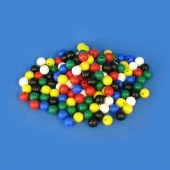 Beads Plastic 16.5mm set of 150