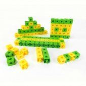 Connecting Cubes 2 colours set of 100