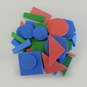 2D EVA Foam shapes set of 36