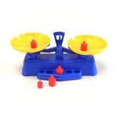 Balance 2 Pan + Weights Plastic
