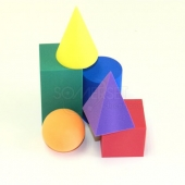 3D EVA Foam Shapes small set of 6